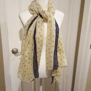 Accessories - Anchor print scarf